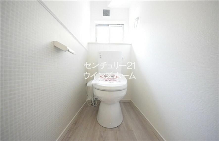 トイレ トイレにはウォッシュレットを搭載し、使用後はスッキリ爽快な使い心地!