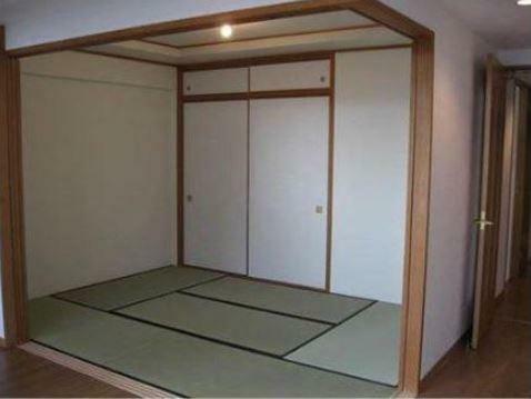 区画図 開放的にも使える和室