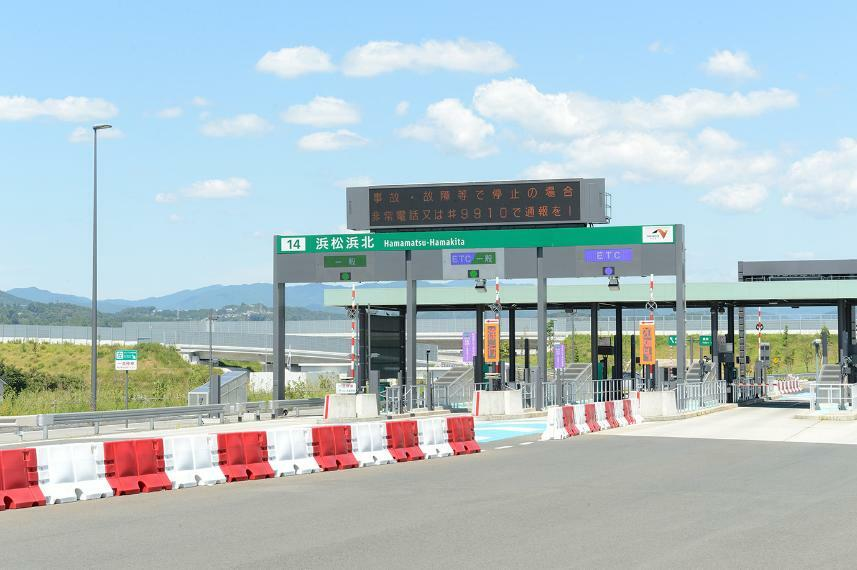 新東名浜松浜北ICまで630m 新たにできた浜松市の玄関口。実家への帰省、レジャーなど様々な場所へフットワーク軽く移動できます。