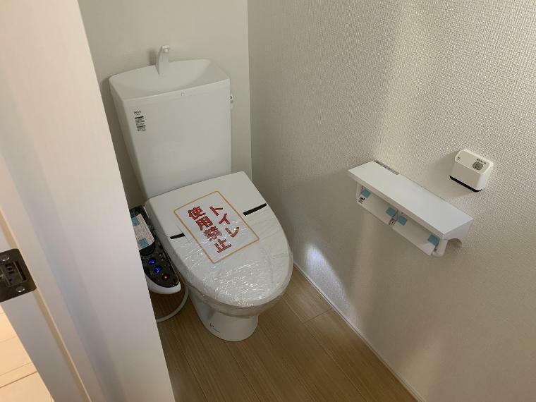トイレ トイレは2箇所設置 混雑しがちな朝や親戚やお友達がお家に集まったときも安心です
