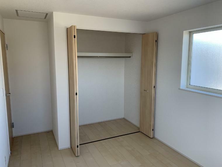 収納 各居室収納設置 自分のお部屋は自分でお片付け スペースを無駄なく使えます