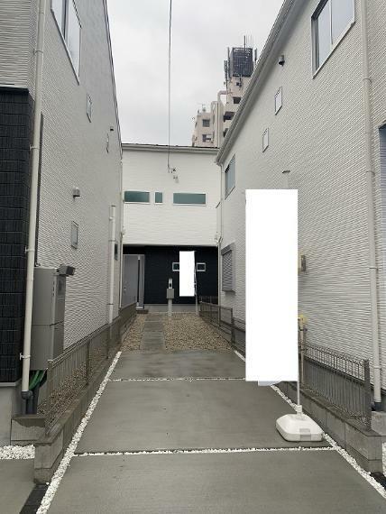 駐車場 2021.1.12撮影