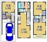 土地図面 ■新築参考プラン■プラン変更可 ■建物参考価格1580万円、延床面積91.08平米、3LDK