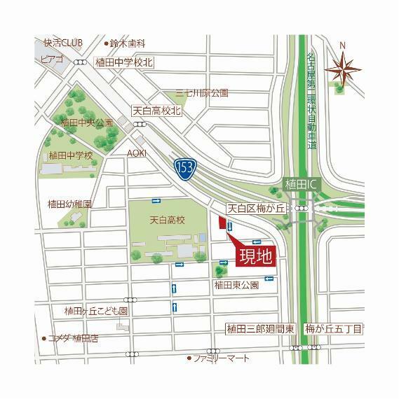 土地図面 現地詳細図