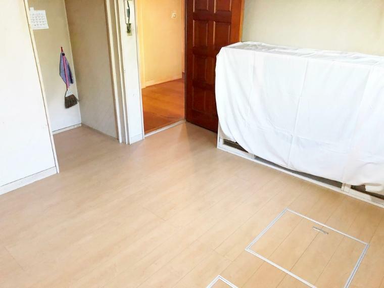 キッチン 床下収納付き