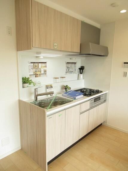 キッチン I型キッチンは作業スペースが広くて効率よくお料理ができます!