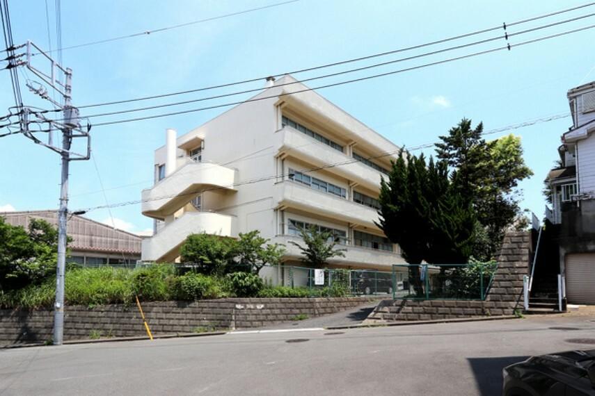 中学校 横浜市立上の宮中学校 昭和53年4月 創立