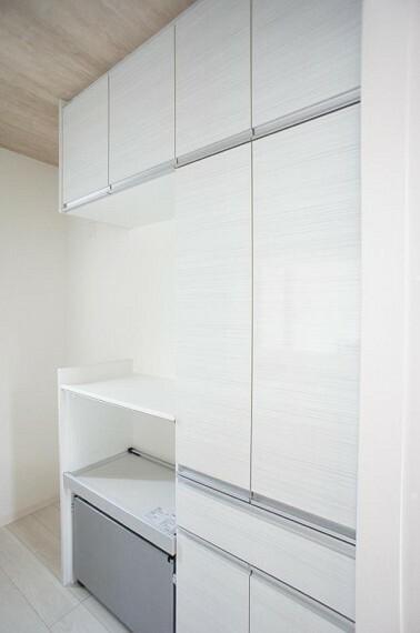 収納 たっぷりの収納スペースで快適に暮らせます。