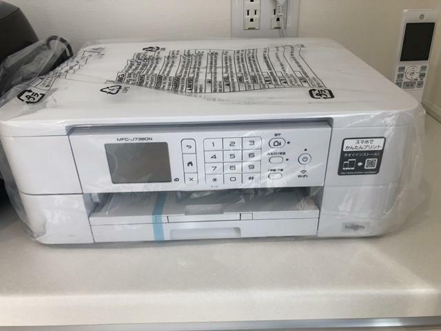 コードレス電話付きカラープリンター