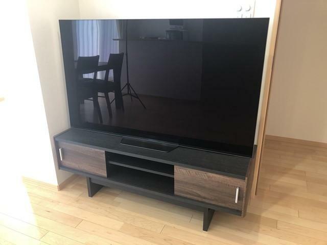 (ソニー55インチ4K対応TV)