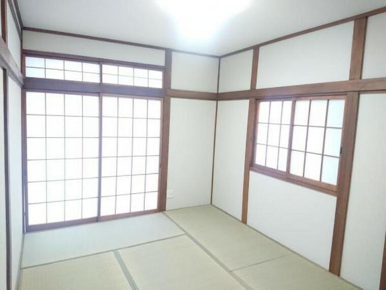 和室 【リフォーム済】和室はクロスの張替え、畳の表替えを行いました。