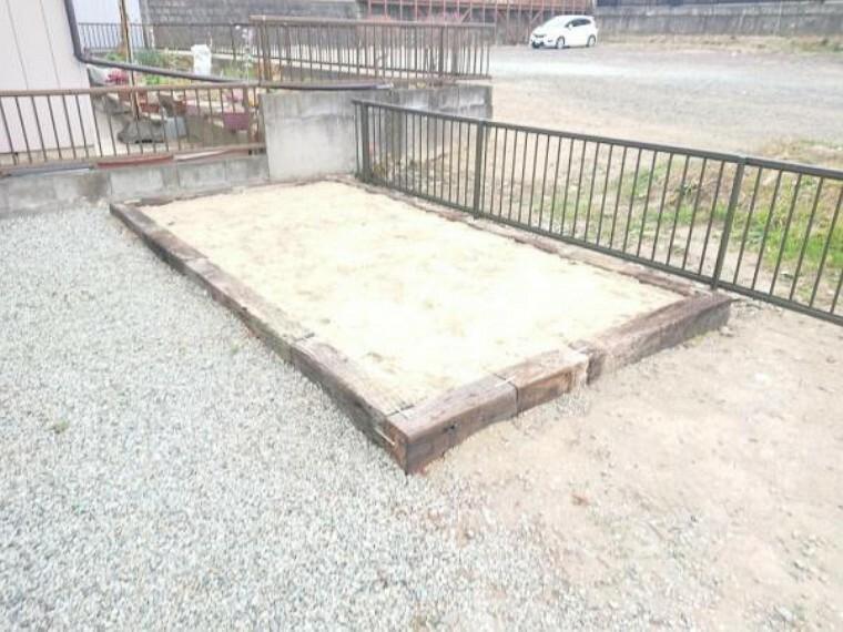 庭 【リフォーム済】菜園スペースの写真です(土の入れ替え必要です)。