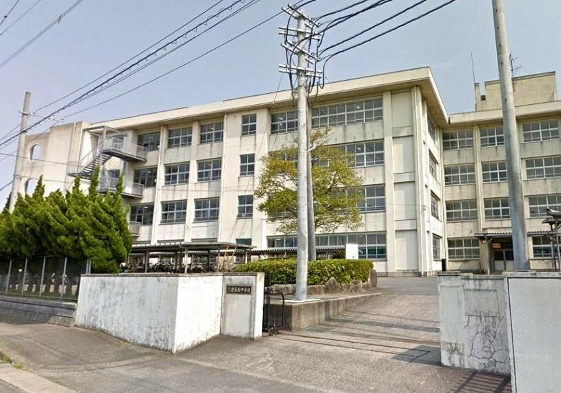 中学校 【中学校】糸島市立前原西中学校まで1650m