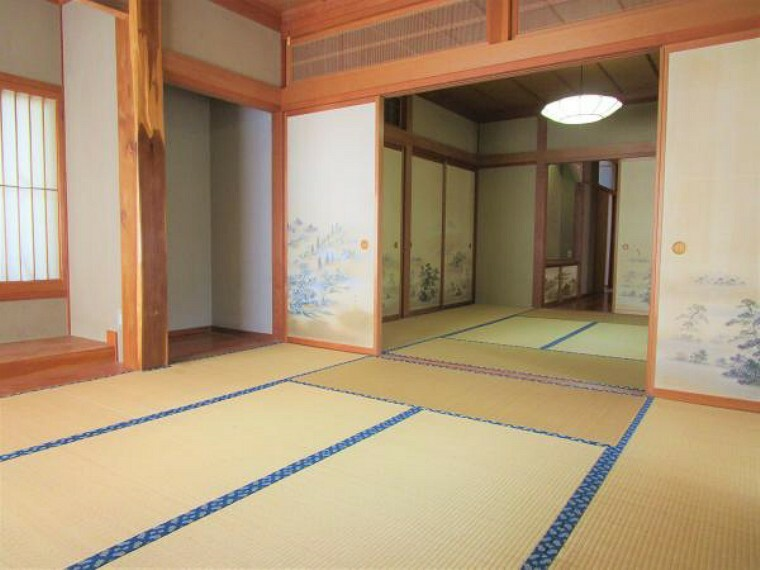 9/20撮影【リフォーム前・東側続間8帖和室別角度】