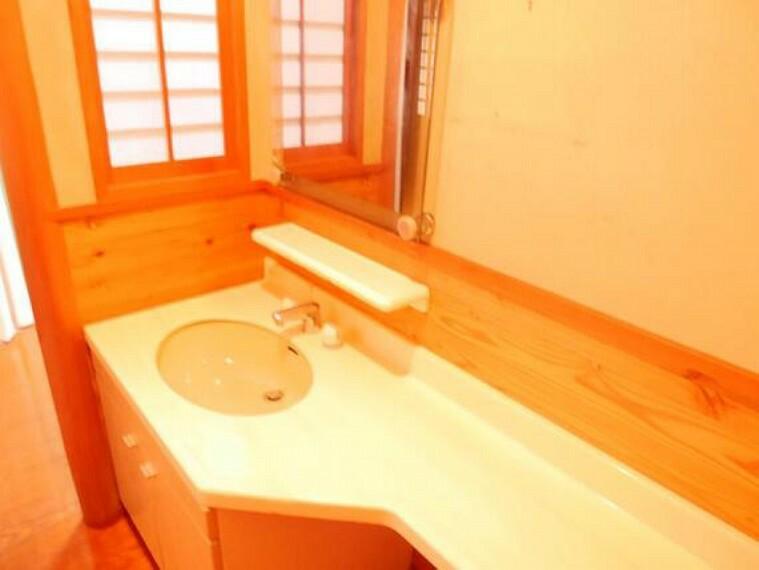 洗面化粧台 洗面スペースです。