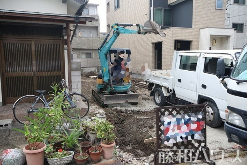 現況写真 10/5撮影 現地 【名古屋市中区新栄2丁目】