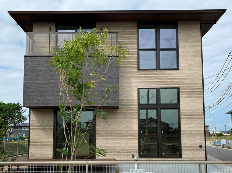 現況外観写真 ミサワホームの新築モデルハウス。ご見学の際はご予約をいただいております