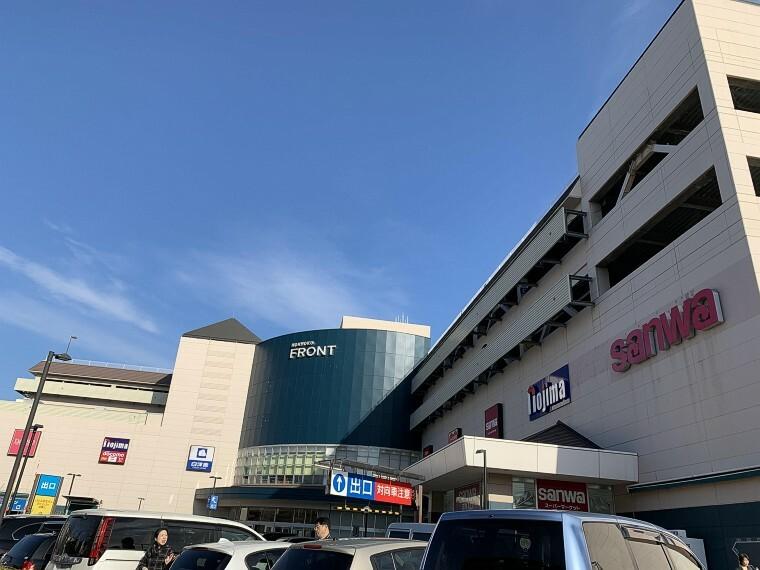 ショッピングセンター 本牧フロント (スーパー三和、ホームセンターコーナン、デジタル&生活家電専門店ノジマなど、生活に密着した店舗からなる商業施設です。ベーカリーも入ってます。)