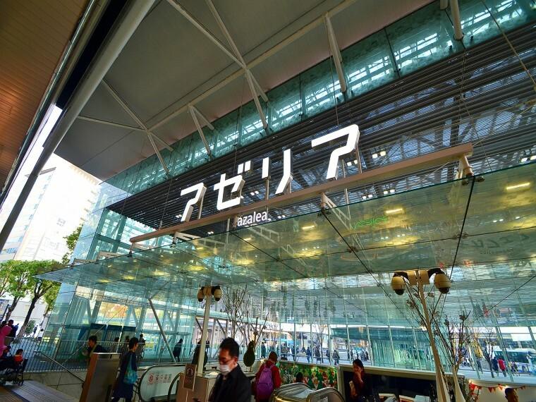 ショッピングセンター 川崎アゼリア(川崎駅東口地下のショッピングモール。グルメ・ファッション・生活雑貨まで多数の店舗が並びます。)