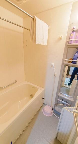 浴室 心地よさと清潔、掃除のしやすさにこだわったバスルーム。