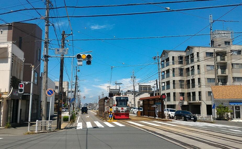 豊橋鉄道市内線「東田坂上」駅