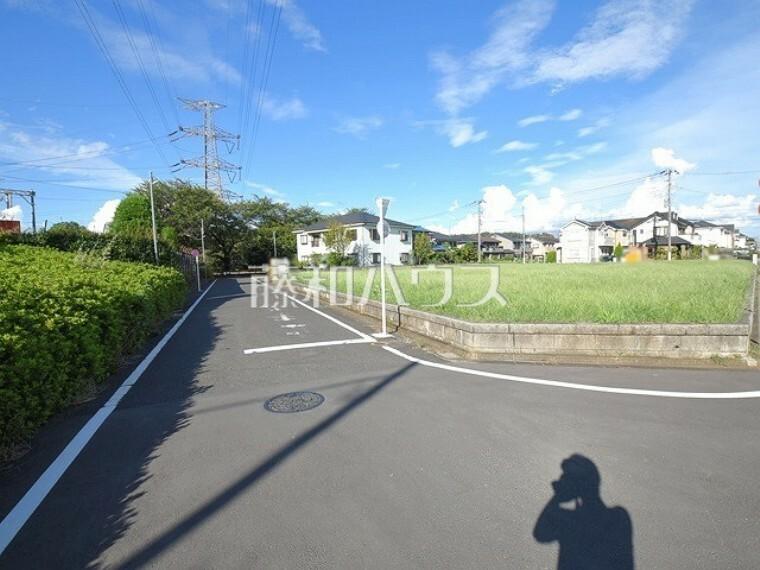 現況写真 接道状況および現場風景 【小平市栄町1丁目】