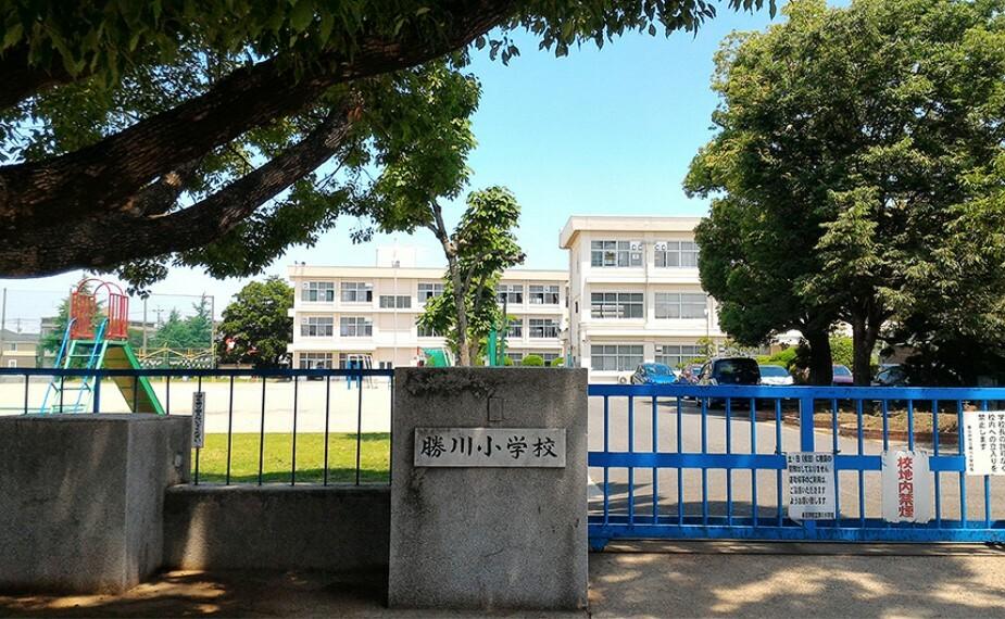 小学校 勝川小学校