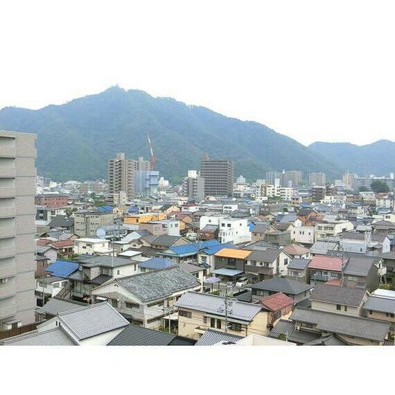 眺望 周囲は穏やかな街並みが広がっています。