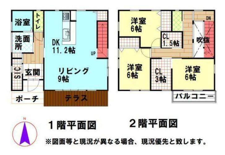 間取り図 間取図 3LDK・WIC・SIC