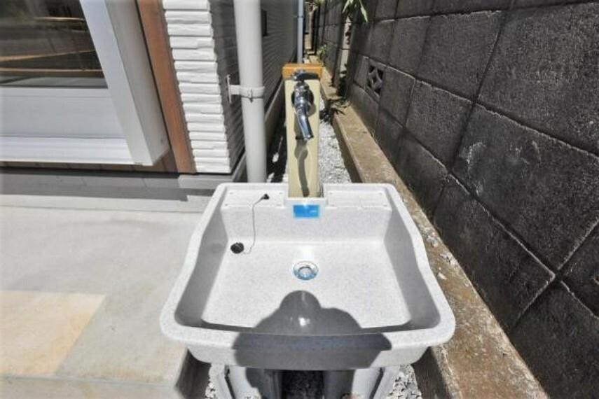立水栓 お車やペットを洗うのに便利です!