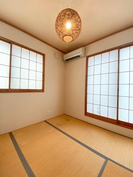 専用部・室内写真 ・和室・2面採光の明るい和室です。お子様の遊び場として、くつろぎの空間として使っていただけます。(2020年9月撮影)