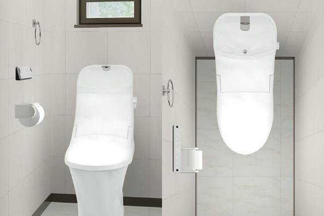 ベーシア シャワートイレ フチレス 奥も手前も便器のフチを丸ごとなくし、サッとひと拭き、お掃除ラクラクです。 シャープで足元スリムなフォルムは、汚れも拭きやすく、お手入れがカンタンです。