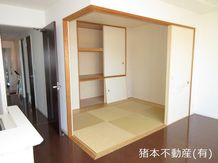 和室 約4.5帖、畳スペース