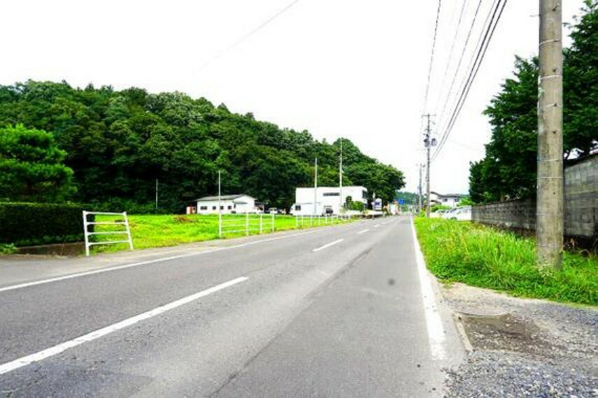 周辺道路です。