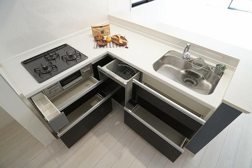 キッチン ~kitchen~  省エネ・衛生的な食器洗乾燥機付