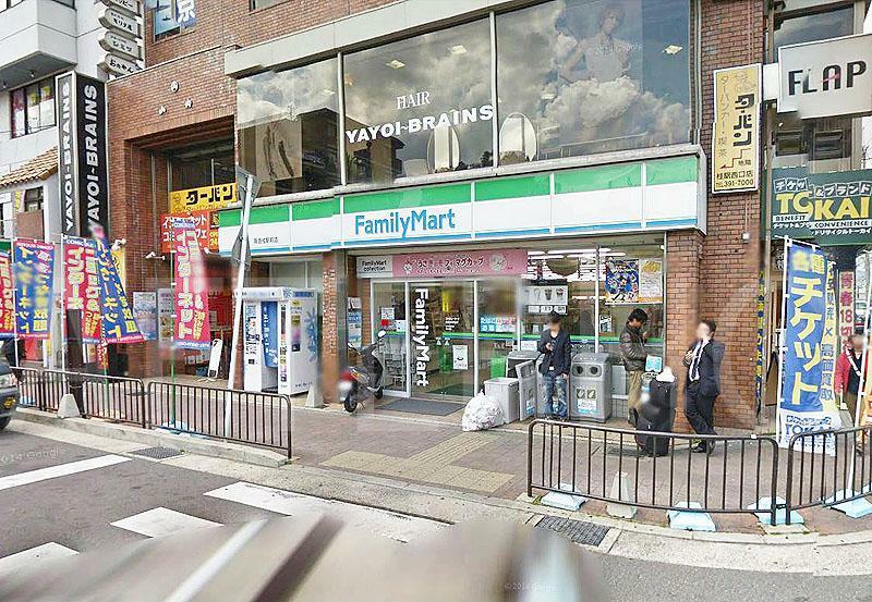 コンビニ ファミリーマート阪急桂駅前店