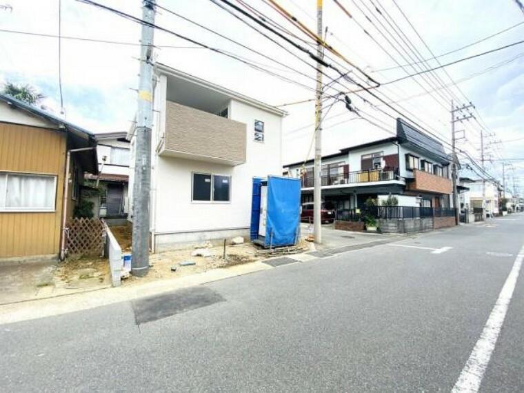現況写真 前面道路含む現地外観(11月20日)