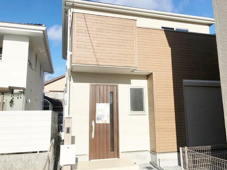 現況外観写真 本堅田6丁目に3区画の新築戸建が登場!