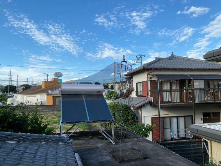 眺望 お部屋から富士山も見えます。