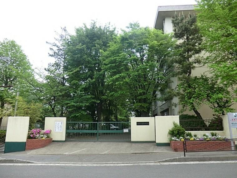 中学校 川崎市立南生田中学校 距離約800m