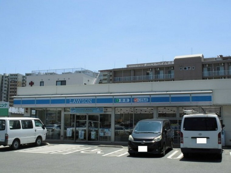 コンビニ ローソン福岡名島三丁目店