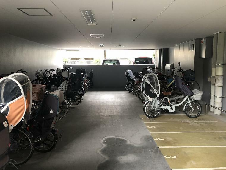 駐輪場 駐輪場。1台あたり50~200円(月額利用料)。