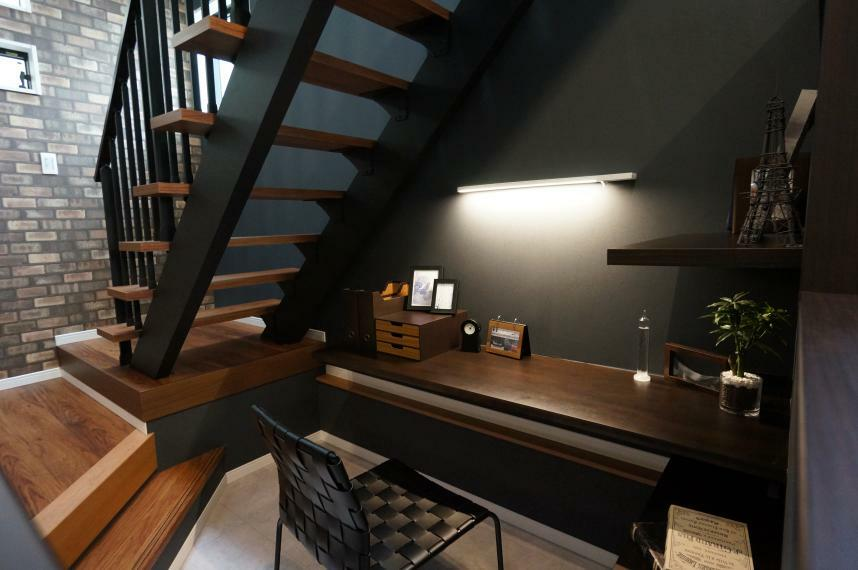 【当社施工事例】1階書斎スペース