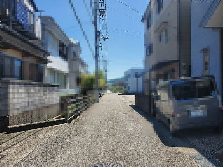 現況写真 南接道 西→東