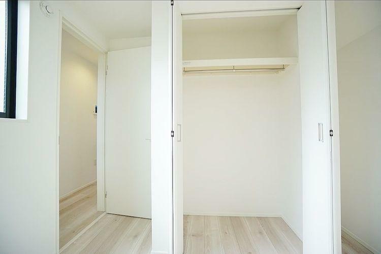 収納 各居室に十分な収納スペースを確保。どのお部屋でも室内を無駄なく使えます。