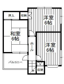 間取り図 2F