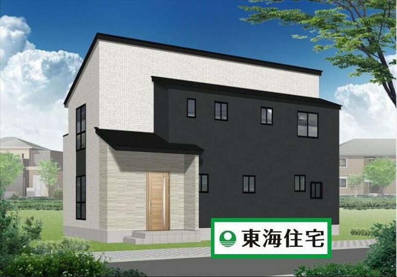 現況外観写真 (外観)コンセプトは「ナチュラルカフェスタイル」!東海住宅施の施工!