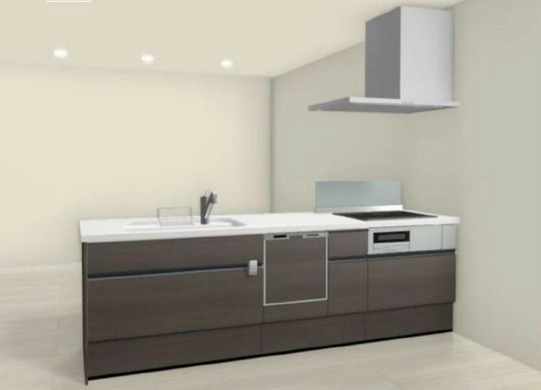 キッチン (キッチン)食洗器付きキッチンで家事の時間をカット!空いた時間でファミリータイムを楽しみましょう!