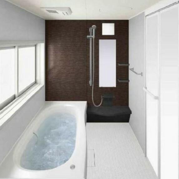 浴室 (浴室)パパも足を伸ばせる大きなお風呂で寛ぎの時間を過ごせます!