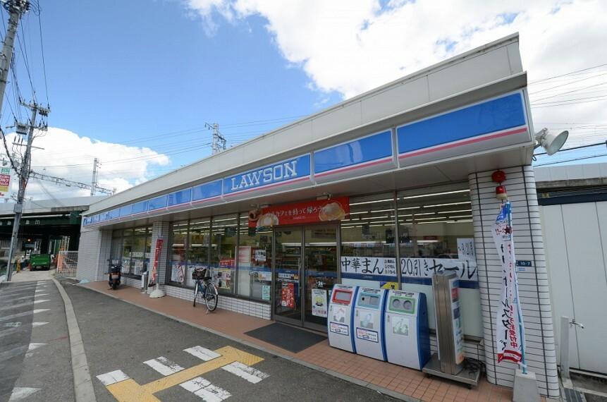 コンビニ 【コンビニエンスストア】ローソン宝塚平井6丁目まで683m
